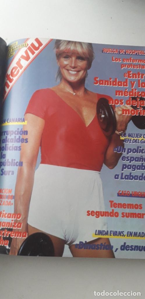 Coleccionismo de Revista Interviú: REVISTA INTERVIU 1987, 13 NÚMEROS: 568, 569, 570, 571, 572, 573, 574, 575, 576, 577, 578, 579, 580 - Foto 11 - 188790122