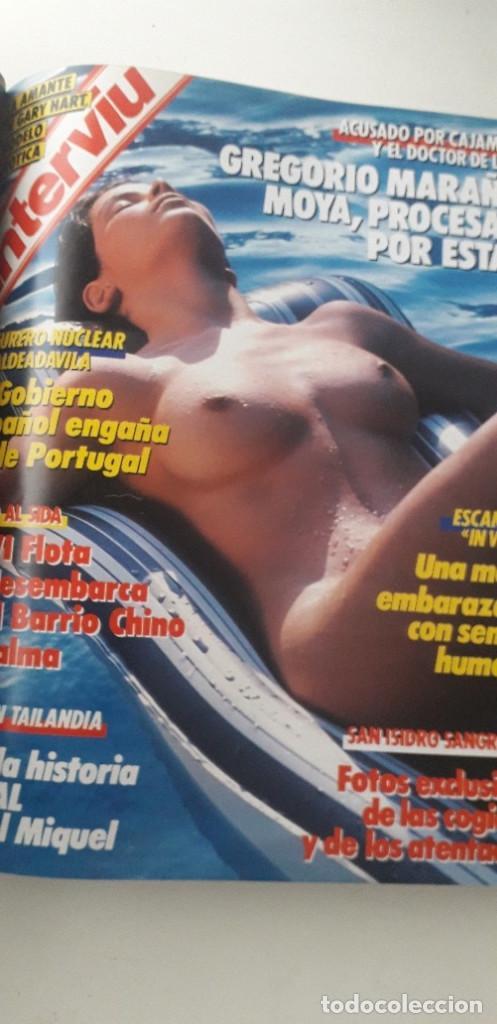 Coleccionismo de Revista Interviú: REVISTA INTERVIU 1987, 13 NÚMEROS: 568, 569, 570, 571, 572, 573, 574, 575, 576, 577, 578, 579, 580 - Foto 12 - 188790122