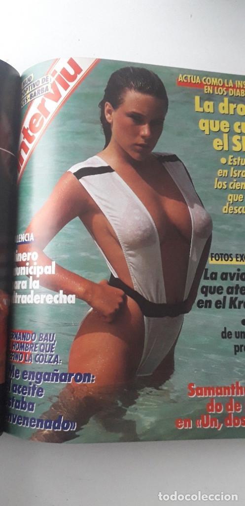 Coleccionismo de Revista Interviú: REVISTA INTERVIU 1987, 13 NÚMEROS: 568, 569, 570, 571, 572, 573, 574, 575, 576, 577, 578, 579, 580 - Foto 15 - 188790122