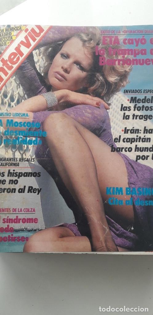 Coleccionismo de Revista Interviú: REVISTA INTERVIU 1987, 12 NÚMEROS: 595, 596, 597, 598, 599, 600, 601, 602, 603, 604, 605, 606 - Foto 2 - 188794138