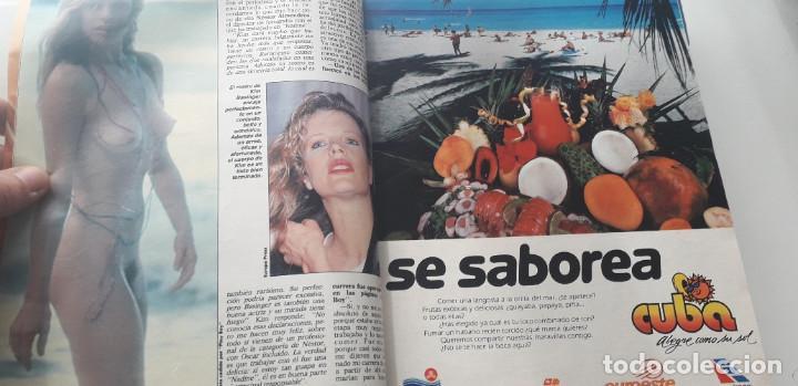 Coleccionismo de Revista Interviú: REVISTA INTERVIU 1987, 12 NÚMEROS: 595, 596, 597, 598, 599, 600, 601, 602, 603, 604, 605, 606 - Foto 3 - 188794138