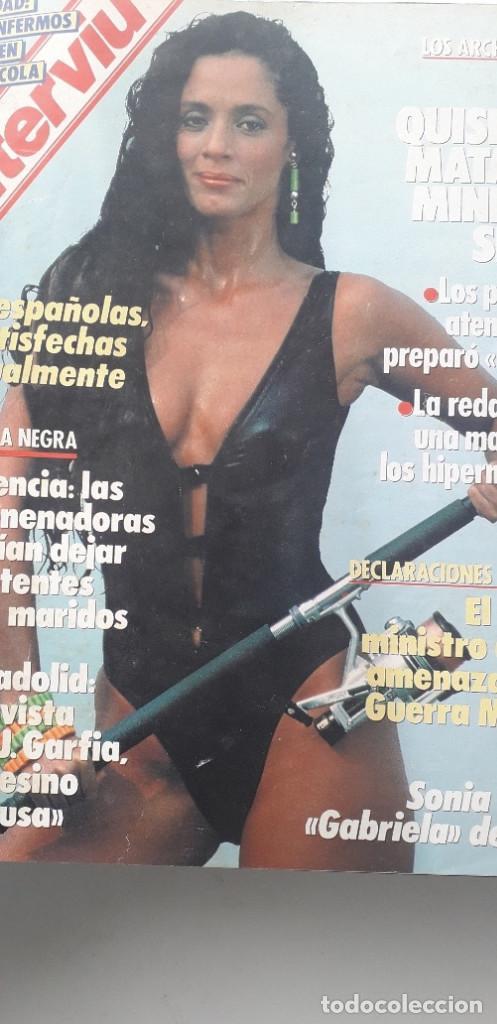 Coleccionismo de Revista Interviú: REVISTA INTERVIU 1987, 12 NÚMEROS: 595, 596, 597, 598, 599, 600, 601, 602, 603, 604, 605, 606 - Foto 4 - 188794138