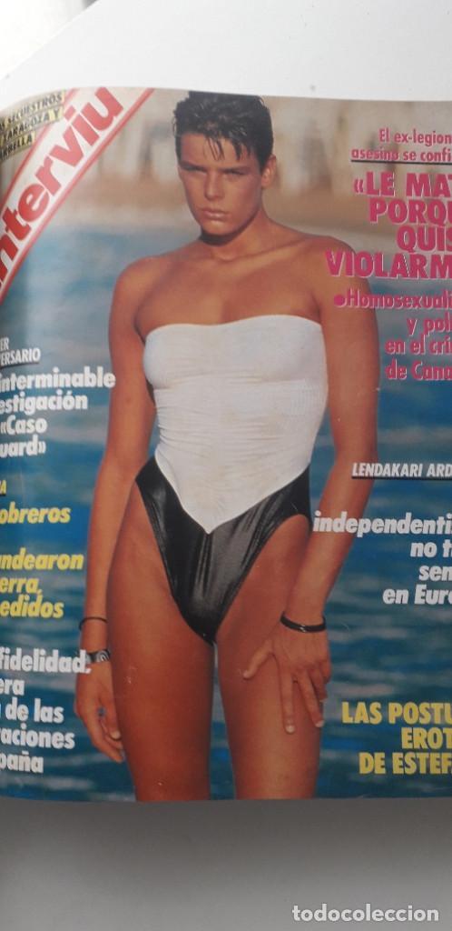 Coleccionismo de Revista Interviú: REVISTA INTERVIU 1987, 12 NÚMEROS: 595, 596, 597, 598, 599, 600, 601, 602, 603, 604, 605, 606 - Foto 10 - 188794138