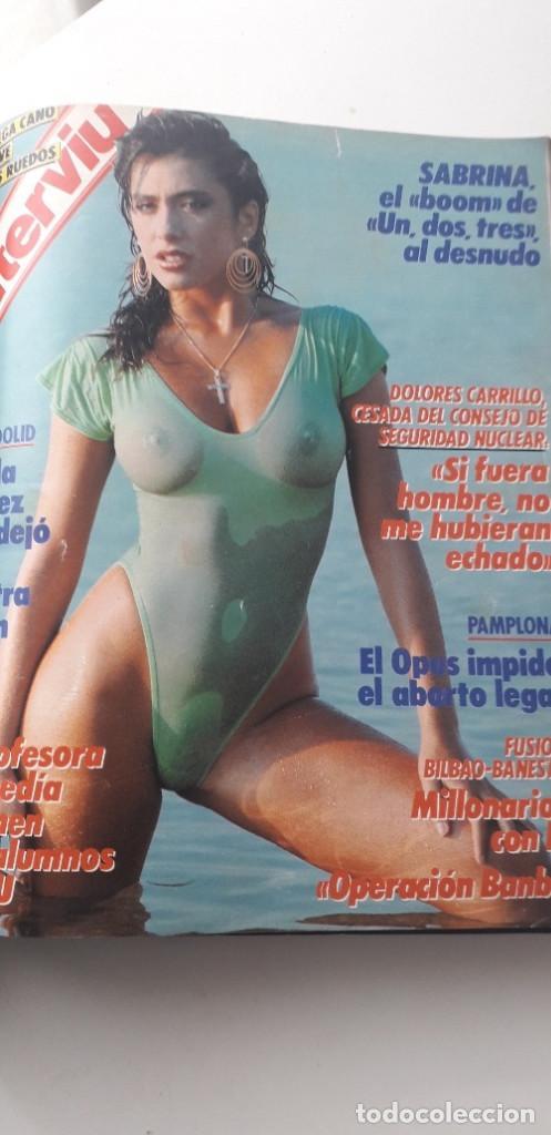 Coleccionismo de Revista Interviú: REVISTA INTERVIU 1987, 12 NÚMEROS: 595, 596, 597, 598, 599, 600, 601, 602, 603, 604, 605, 606 - Foto 13 - 188794138