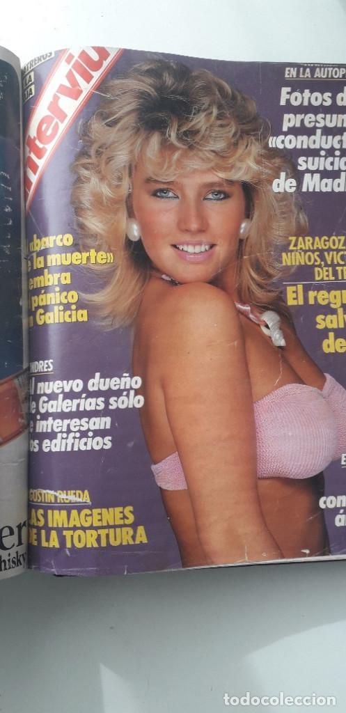 Coleccionismo de Revista Interviú: REVISTA INTERVIU 1987, 12 NÚMEROS: 595, 596, 597, 598, 599, 600, 601, 602, 603, 604, 605, 606 - Foto 17 - 188794138