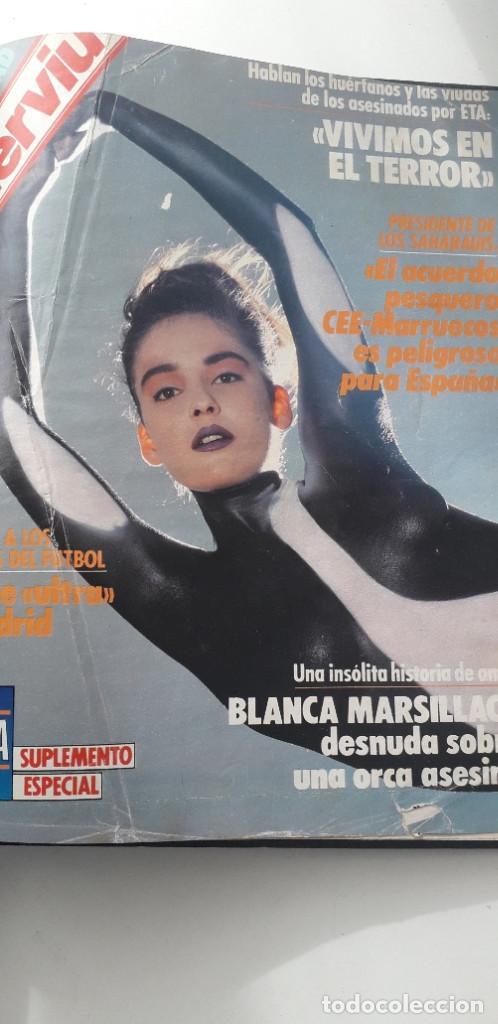Coleccionismo de Revista Interviú: REVISTA INTERVIU 1987, 12 NÚMEROS: 595, 596, 597, 598, 599, 600, 601, 602, 603, 604, 605, 606 - Foto 18 - 188794138