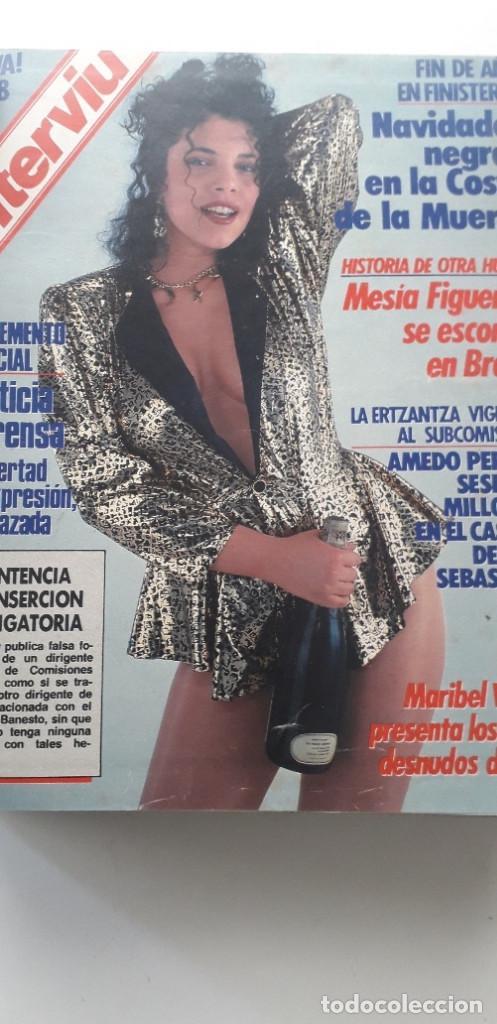 Coleccionismo de Revista Interviú: REVISTA INTERVIU 1988, 14 NÚMEROS: 607, 608, 609, 610, 611, 612, 613, 614, 615, 616, 617, 618, 619.. - Foto 2 - 188795171