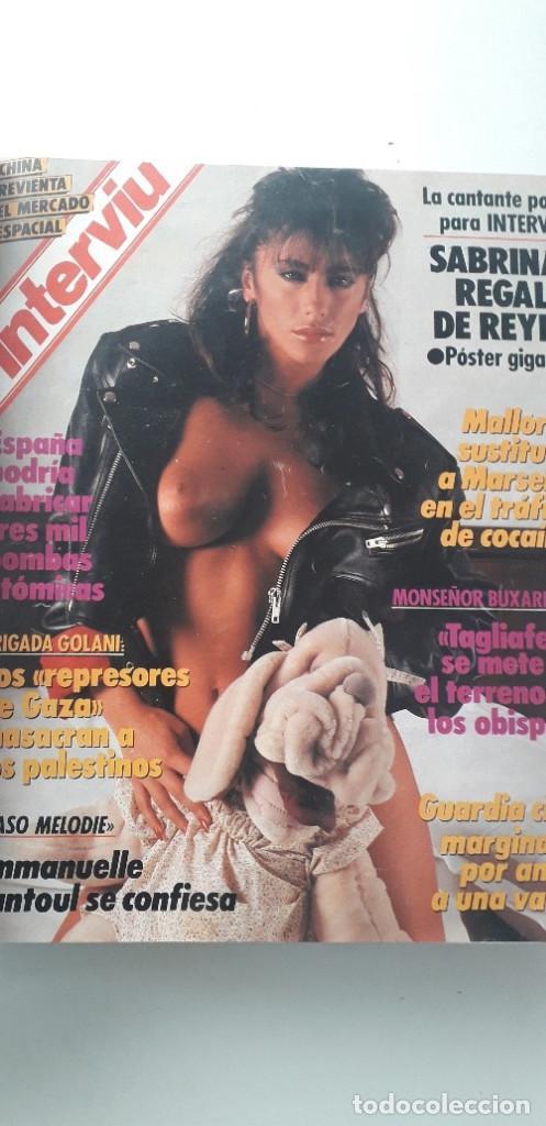 Coleccionismo de Revista Interviú: REVISTA INTERVIU 1988, 14 NÚMEROS: 607, 608, 609, 610, 611, 612, 613, 614, 615, 616, 617, 618, 619.. - Foto 3 - 188795171