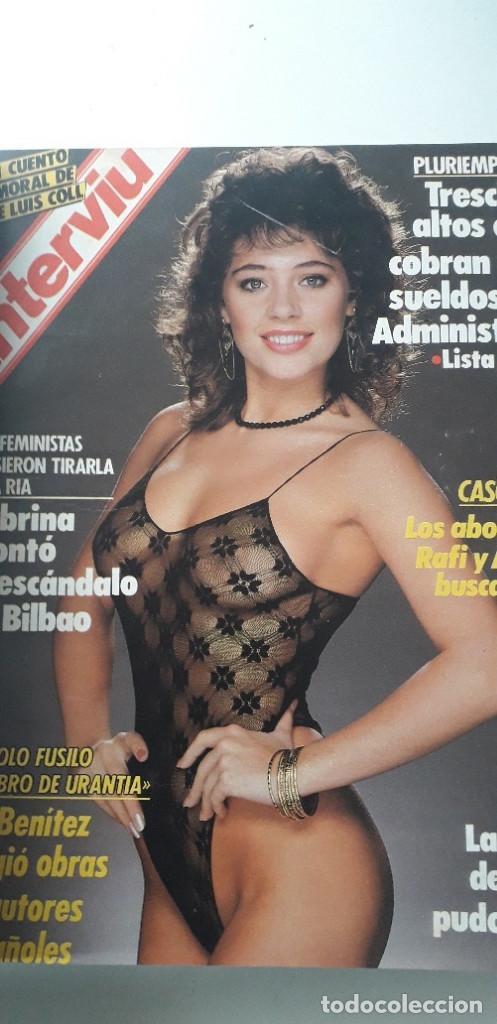 Coleccionismo de Revista Interviú: REVISTA INTERVIU 1988, 14 NÚMEROS: 607, 608, 609, 610, 611, 612, 613, 614, 615, 616, 617, 618, 619.. - Foto 5 - 188795171