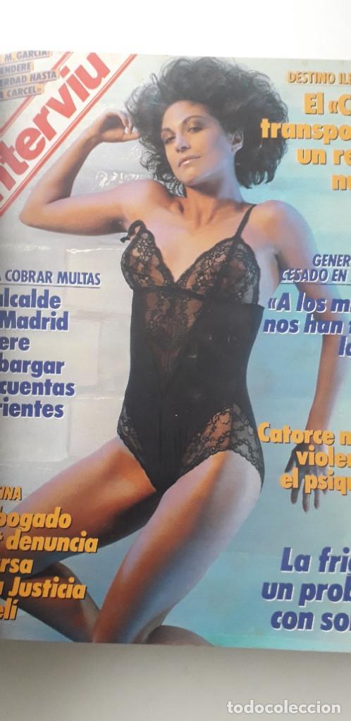 Coleccionismo de Revista Interviú: REVISTA INTERVIU 1988, 14 NÚMEROS: 607, 608, 609, 610, 611, 612, 613, 614, 615, 616, 617, 618, 619.. - Foto 6 - 188795171