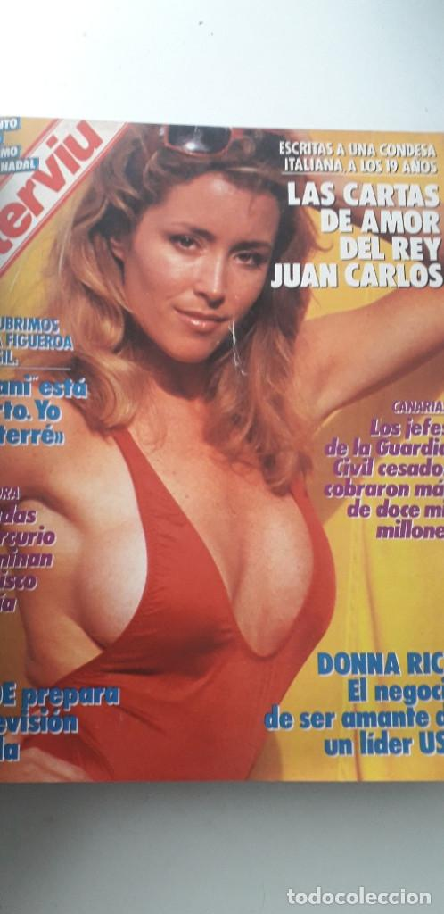 Coleccionismo de Revista Interviú: REVISTA INTERVIU 1988, 14 NÚMEROS: 607, 608, 609, 610, 611, 612, 613, 614, 615, 616, 617, 618, 619.. - Foto 7 - 188795171