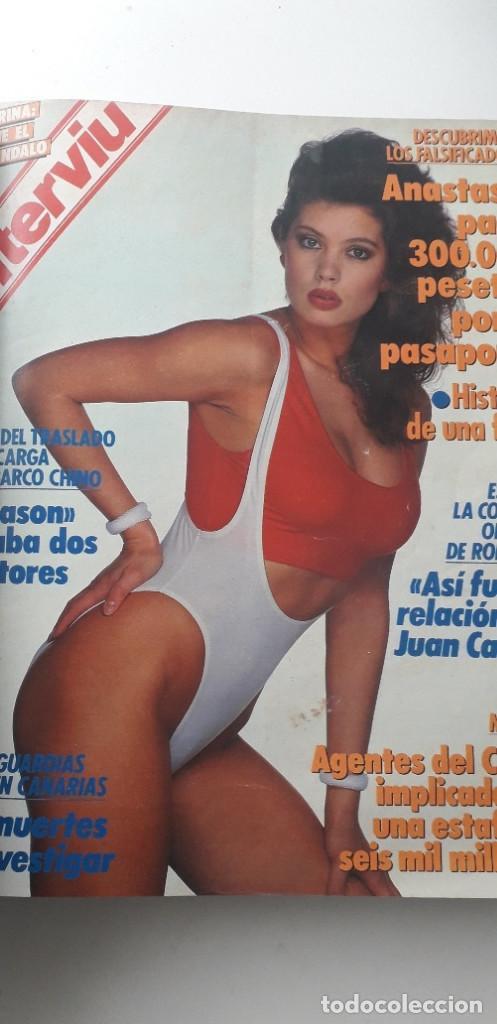 Coleccionismo de Revista Interviú: REVISTA INTERVIU 1988, 14 NÚMEROS: 607, 608, 609, 610, 611, 612, 613, 614, 615, 616, 617, 618, 619.. - Foto 8 - 188795171