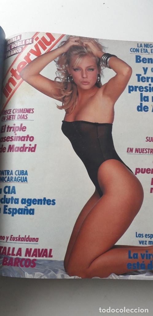Coleccionismo de Revista Interviú: REVISTA INTERVIU 1988, 14 NÚMEROS: 607, 608, 609, 610, 611, 612, 613, 614, 615, 616, 617, 618, 619.. - Foto 9 - 188795171