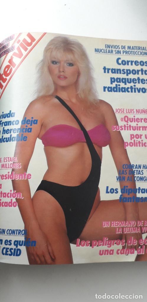 Coleccionismo de Revista Interviú: REVISTA INTERVIU 1988, 14 NÚMEROS: 607, 608, 609, 610, 611, 612, 613, 614, 615, 616, 617, 618, 619.. - Foto 10 - 188795171