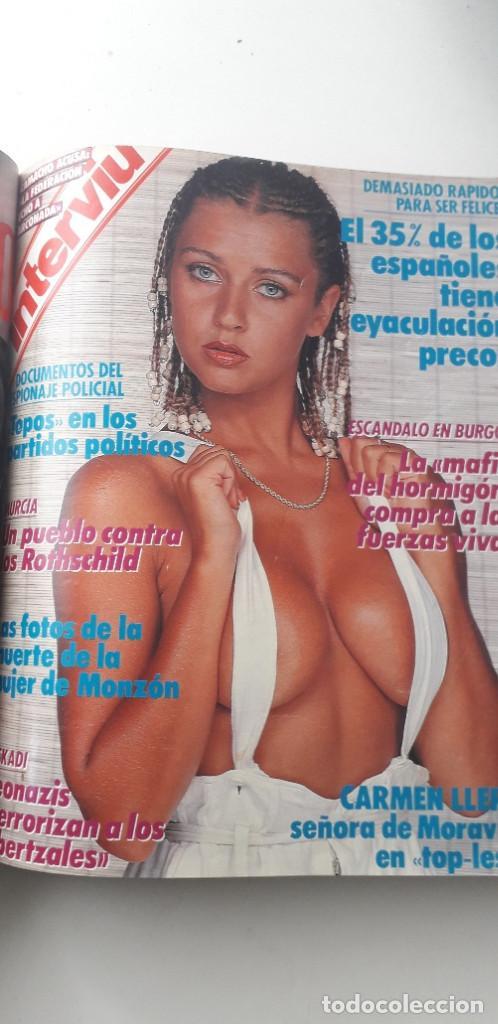 Coleccionismo de Revista Interviú: REVISTA INTERVIU 1988, 14 NÚMEROS: 607, 608, 609, 610, 611, 612, 613, 614, 615, 616, 617, 618, 619.. - Foto 11 - 188795171