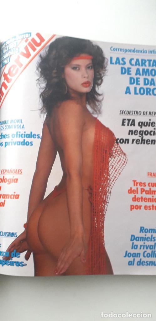 Coleccionismo de Revista Interviú: REVISTA INTERVIU 1988, 14 NÚMEROS: 607, 608, 609, 610, 611, 612, 613, 614, 615, 616, 617, 618, 619.. - Foto 12 - 188795171