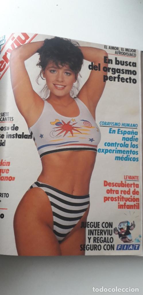 Coleccionismo de Revista Interviú: REVISTA INTERVIU 1988, 14 NÚMEROS: 607, 608, 609, 610, 611, 612, 613, 614, 615, 616, 617, 618, 619.. - Foto 13 - 188795171