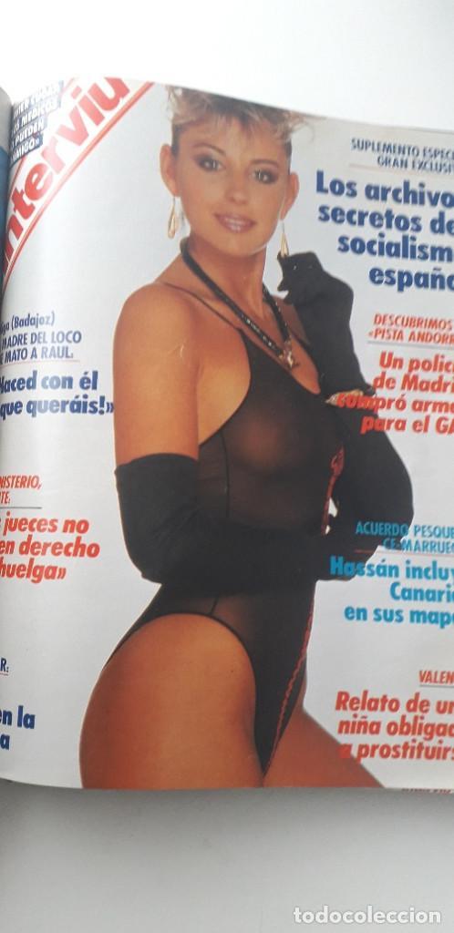 Coleccionismo de Revista Interviú: REVISTA INTERVIU 1988, 14 NÚMEROS: 607, 608, 609, 610, 611, 612, 613, 614, 615, 616, 617, 618, 619.. - Foto 14 - 188795171