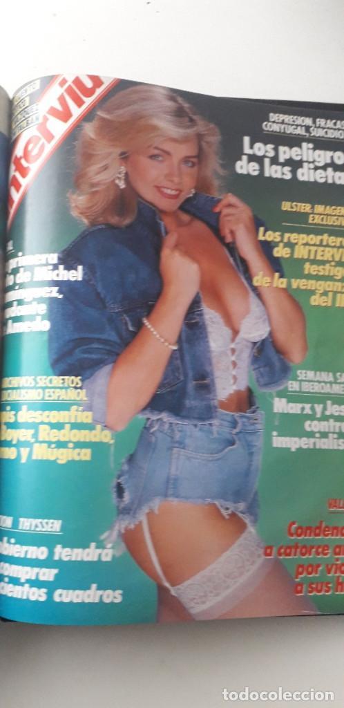 Coleccionismo de Revista Interviú: REVISTA INTERVIU 1988, 14 NÚMEROS: 607, 608, 609, 610, 611, 612, 613, 614, 615, 616, 617, 618, 619.. - Foto 16 - 188795171
