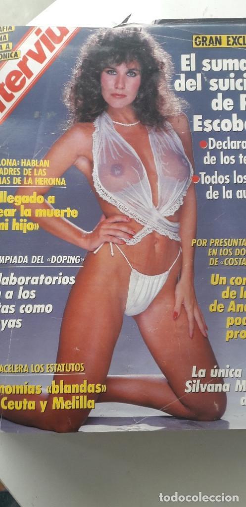 Coleccionismo de Revista Interviú: REVISTA INTERVIU 1988, 12 NÚMEROS: 647, 648, 649, 650, 651, 652, 653, 654, 655, 656, 657, 659 - Foto 2 - 188799262