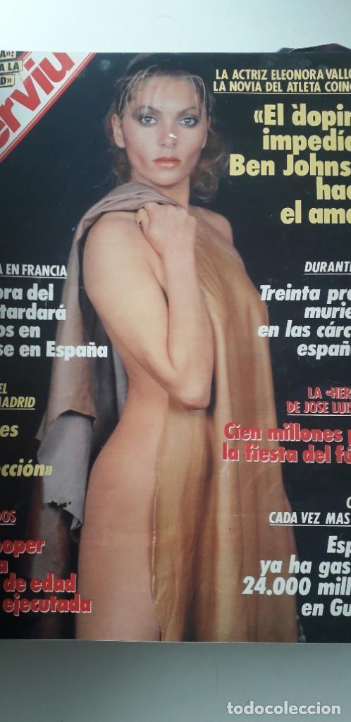 Coleccionismo de Revista Interviú: REVISTA INTERVIU 1988, 12 NÚMEROS: 647, 648, 649, 650, 651, 652, 653, 654, 655, 656, 657, 659 - Foto 3 - 188799262