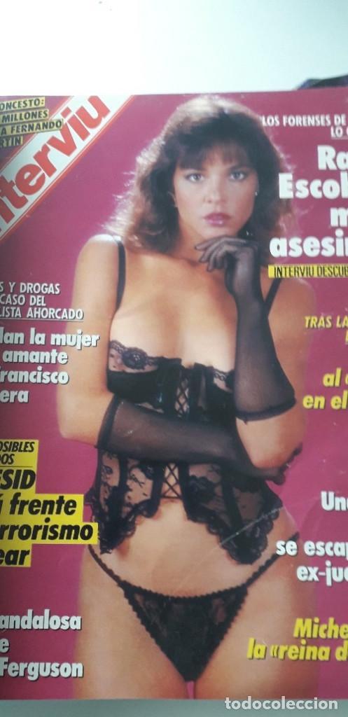 Coleccionismo de Revista Interviú: REVISTA INTERVIU 1988, 12 NÚMEROS: 647, 648, 649, 650, 651, 652, 653, 654, 655, 656, 657, 659 - Foto 4 - 188799262