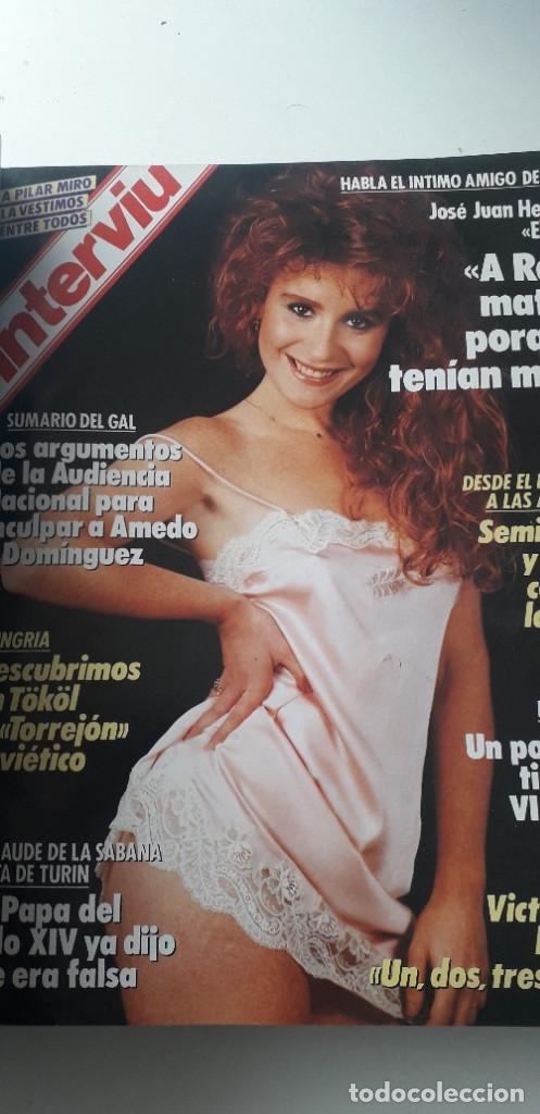 Coleccionismo de Revista Interviú: REVISTA INTERVIU 1988, 12 NÚMEROS: 647, 648, 649, 650, 651, 652, 653, 654, 655, 656, 657, 659 - Foto 5 - 188799262
