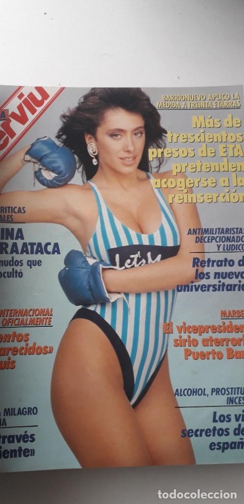 Coleccionismo de Revista Interviú: REVISTA INTERVIU 1988, 12 NÚMEROS: 647, 648, 649, 650, 651, 652, 653, 654, 655, 656, 657, 659 - Foto 6 - 188799262