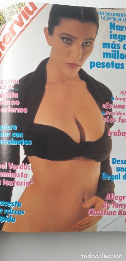 Coleccionismo de Revista Interviú: REVISTA INTERVIU 1988, 12 NÚMEROS: 647, 648, 649, 650, 651, 652, 653, 654, 655, 656, 657, 659 - Foto 12 - 188799262