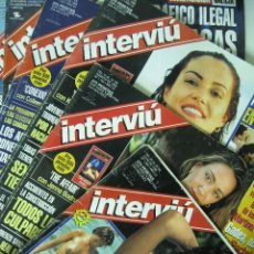 Collectionnisme de Magazine Interviú: LOTE 6 REVISTAS INTERVIÚ ( 4 DE 1.998 + 2 DE 2.001) - NROS. 1.160, 1.163, 1.164, 1.165, 1.291, 1.294. Lote 189794033
