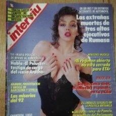 Coleccionismo de Revista Interviú: INTERVIU N° 671. GLORIA RODRÍGUEZ (PORTADA). CONCHA GARCÍA CAMPOY.. Lote 190371990