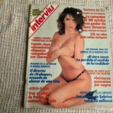 Collezionismo di Rivista Interviú: INTERVIU JUNIO DE 1989. : SABRINA SALERNO REPORTAJE FOTOGRAFICO 9 PAGINAS. Lote 58669052
