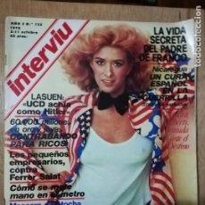 Coleccionismo de Revista Interviú: INTERVIU N° 125. SANDRA ALBERTI (PORTADA). FERNANDO REY. SEXO EN LOS TRANSPORTES PÚBLICOS. Lote 190758063