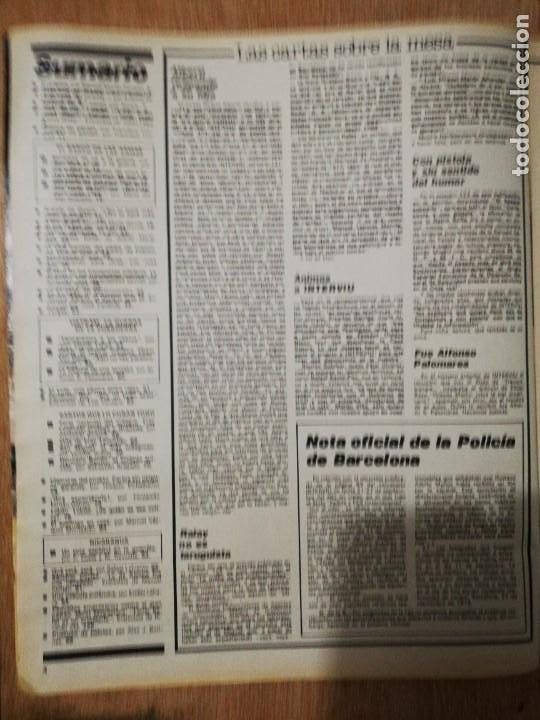 Coleccionismo de Revista Interviú: Interviu N° 125. Sandra Alberti (Portada). Fernando Rey. Sexo en los transportes públicos - Foto 2 - 190758063