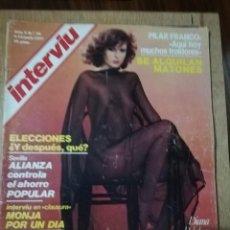 Coleccionismo de Revista Interviú: INTERVIU N° 56. DIANA POLAKOV (PORTADA). PILAR FRANCO. Lote 190822121