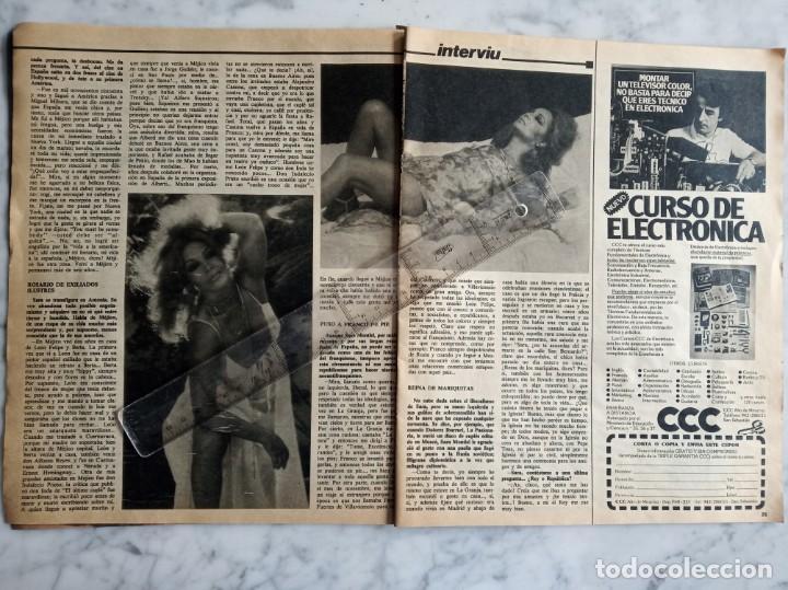 Coleccionismo de Revista Interviú: reportaje de 4 paginas revista interviu - sara montiel soy algo mas que un cuerpo - - Foto 2 - 190855596