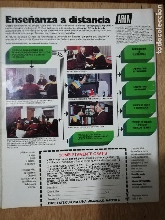 Coleccionismo de Revista Interviú: Interviu N° 75. Elena Fernán-Gómez (Portada). Letamendia. Victoria Kent - Foto 3 - 190860285
