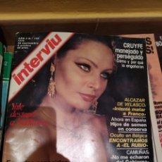 Coleccionismo de Revista Interviú: 15 REVISTAS AÑO 1977 VARIADAS. Lote 191044811