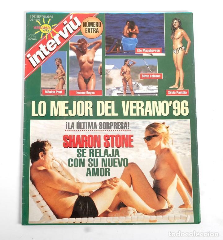 Coleccionismo de Revista Interviú: Interviú nº 1063. Con Lo mejor del verano y encarte con el poster y fotos de Madonna. 9/1996 - Foto 2 - 191583882