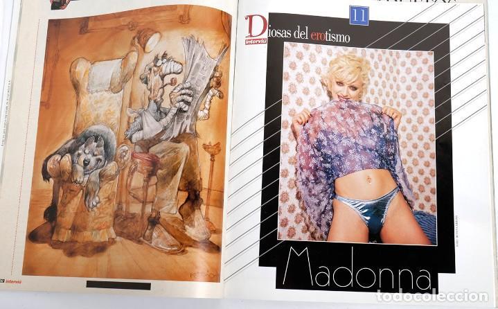 Coleccionismo de Revista Interviú: Interviú nº 1063. Con Lo mejor del verano y encarte con el poster y fotos de Madonna. 9/1996 - Foto 3 - 191583882