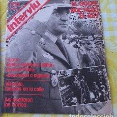 Coleccionismo de Revista Interviú: LA VANGUADIA, INTERVIU Y BLANCO Y NEGRO 24.02.1981. Lote 191888330