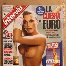 Coleccionismo de Revista Interviú: INTERVIU N° 1339 (2001). FEDERICA TORTI, INCLUYE SUPLEMENTO EXTRA 2001, ELVIS, OPERACIÓN TRIUNFO. Lote 194088875