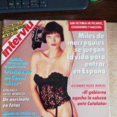 Coleccionismo de Revista Interviú: INTERVIÚ Nº 806. DEMETRA HAMPTON (PORTADA). PASTORA VEGA. ROJAS MARCOS. RAPHAEL.. Lote 194308957