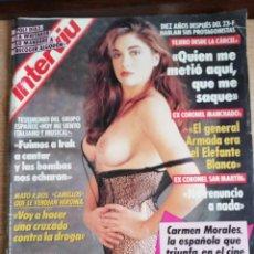 Coleccionismo de Revista Interviú: INTERVIÚ Nº 772. CARMEN MORALES (PORTADA). EL PUMA. POLI DÍAZ. SANTOÑA. Lote 194309443