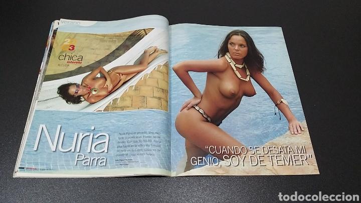Coleccionismo de Revista Interviú: INTERVIÚ N°1.424. 11 DE AGOSTO 2003. AMIRA SAHARA, NURIA PARRA, FLORIANA. - Foto 5 - 194499662