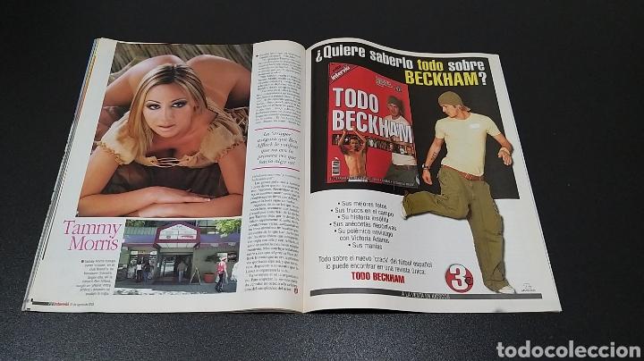 Coleccionismo de Revista Interviú: INTERVIÚ N°1.426. 25 DE AGOSTO 2003. MARTA LÓPEZ, PETRA CARINA, TAMMY MORRIS, DONATELLA. - Foto 8 - 194501615