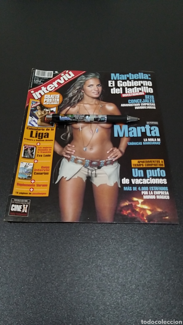 INTERVIÚ N°1.426. 25 DE AGOSTO 2003. MARTA LÓPEZ, PETRA CARINA, TAMMY MORRIS, DONATELLA. (Coleccionismo - Revistas y Periódicos Modernos (a partir de 1.940) - Revista Interviú)