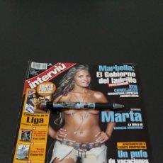 Coleccionismo de Revista Interviú: INTERVIÚ N°1.426. 25 DE AGOSTO 2003. MARTA LÓPEZ, PETRA CARINA, TAMMY MORRIS, DONATELLA.. Lote 194501615