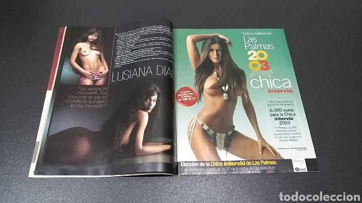 Coleccionismo de Revista Interviú: INTERVIÚ N°1.427. 1 DE SEPTIEMBRE 2003. LUSIANA DIAS, YOLANDA FONSECA, MARINA. - Foto 4 - 194502407