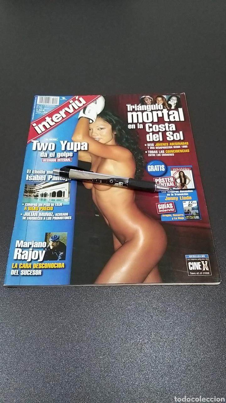 INTERVIÚ N°1.428. 8 DE SEPTIEMBRE 2003. TWO YUPA, JUDITH ALMIRÓN, SILVIA. (Coleccionismo - Revistas y Periódicos Modernos (a partir de 1.940) - Revista Interviú)